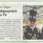 Fernseh-Interview